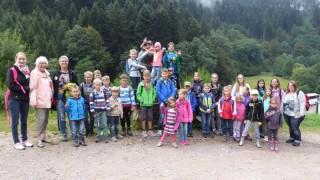 Kinderferienprogramm im Bärenpark - schee wars!
